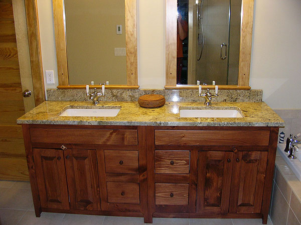 Handcrafted Shaker Style Vanities Privy Pine Products